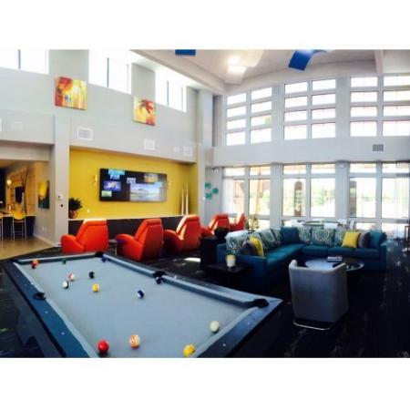Resident Pool Table | Liv Ahwatukee Apartments