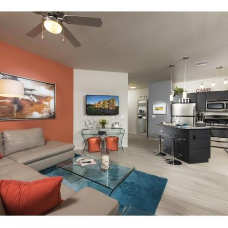 Spacious Living Room | Liv Ahwatukee Apartments