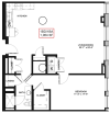 Floor Plan 8 | Rochester Apartments | Spectra at Sibley Square