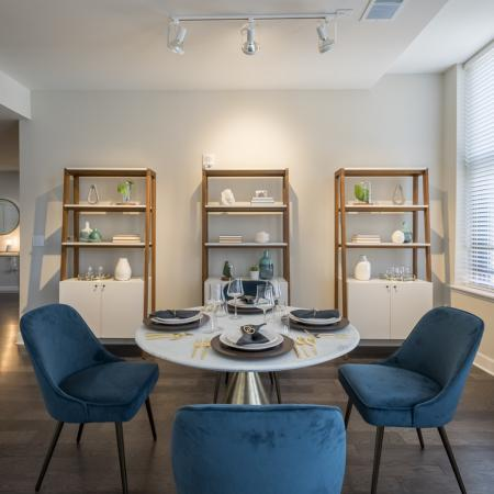 Spacious Dining Room | Luxury Apartments In Rochester New York | Spectra at Sibley Square