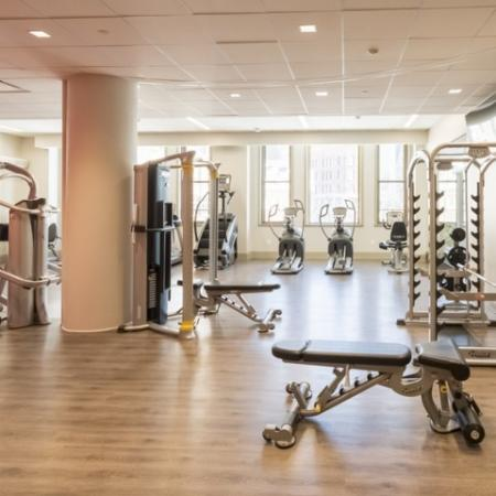 State-of-the-Art Fitness Center | Rochester New York Apartments for Rent | Spectra at Sibley Square