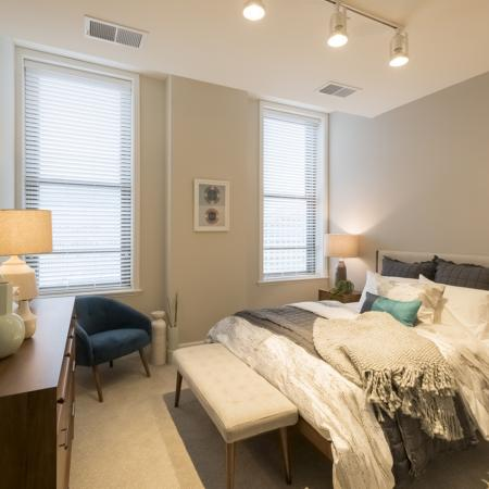 Bedroom | Apartments For Rent In Rochester Ny | Spectra at Sibley Square
