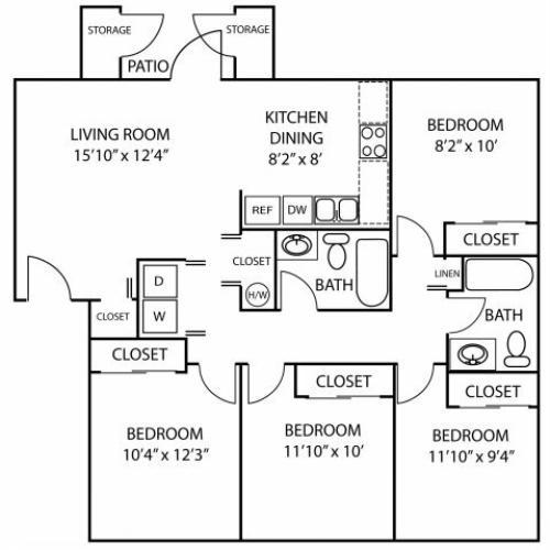 Creekside Apartments (WA)