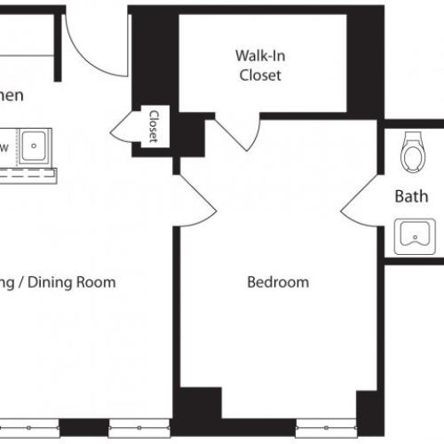 Studio/ 1 Bath Apartment In Philadelphia PA