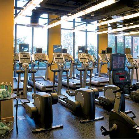 Luxury Fitness Center   Sky55 apartments at Central Station