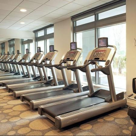 Fitness Center at100 Apartments