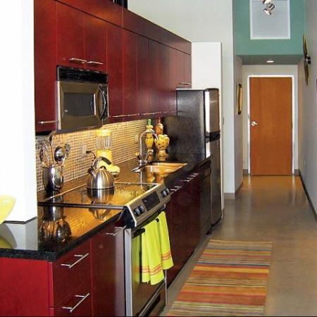 Kitchen for Loft 23 Apartments