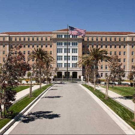 The Grand Entrance of Presidio Landmark Apartments