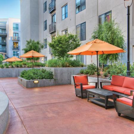 Coutyard: Luxury Amenities | The Uptown