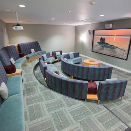 Theater Room: Luxury Amenities | The Uptown