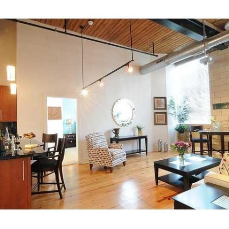 Luxury Apartments in Richmond | Living Room