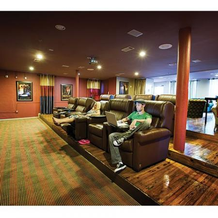 Theater Room | The Wilson Mercantile Place