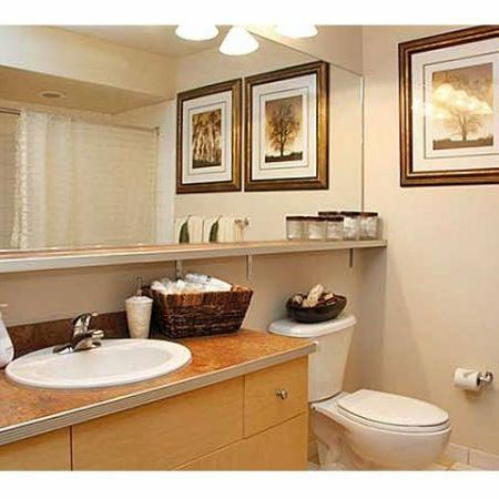 Cumberland Apartments | Beautiful Bathrooms at The River Lofts