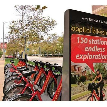 Arlington Rentals | Bike Rack
