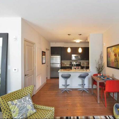 Model Suite at 1111 Stratford Apartments