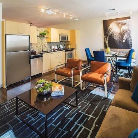 Dallas High Rise TX Apartments | The Continental Mercantile Place Apartments