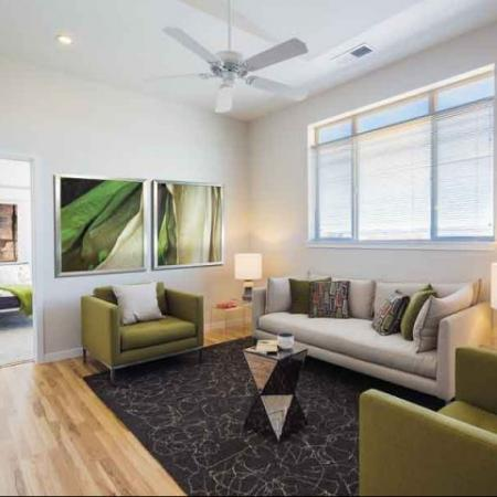 Clever design accompanies our Denver apartments at The Aster Conservatory Green