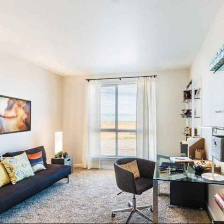 Living room | apartments for rent in Denver CO
