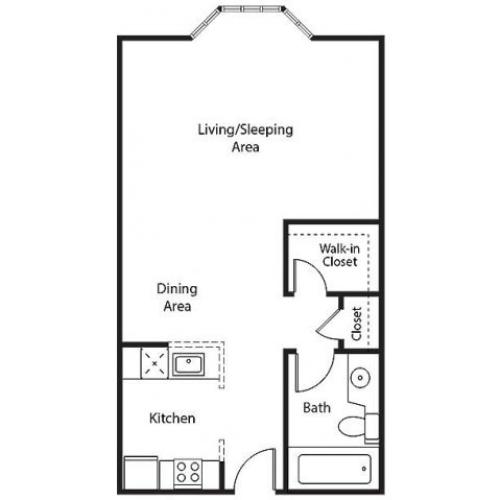 Floor Plan | Bayside Village Apartments