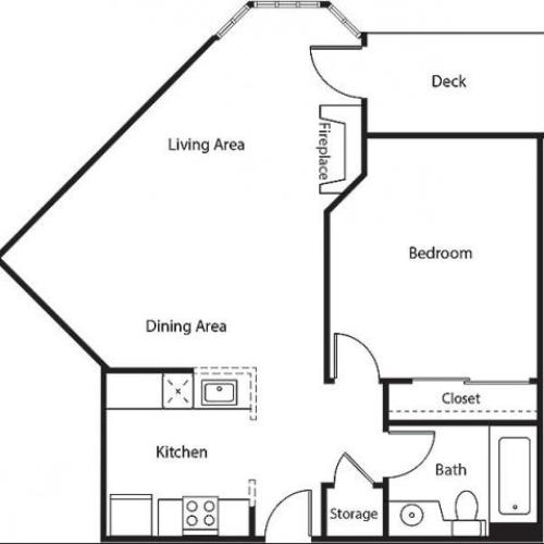 Floor Plan 6 | Bayside Village Apartments