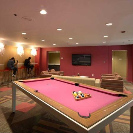 Pool Table at Lenox Park