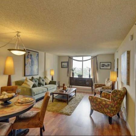 Living Room at Lenox Park2