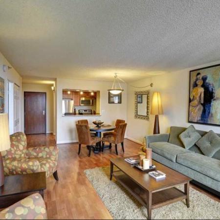 Living Room at Lenox Park 3