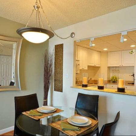 Apartments in Arlington | Dining Room