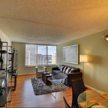 Apartments for rent in Arlington VA | Living Room