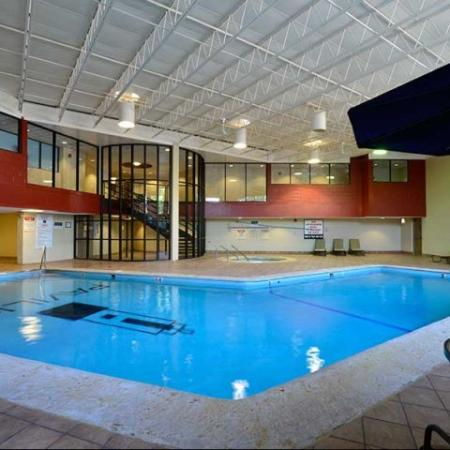 Luxury Amenities: Indoor Pool | The Pavilion