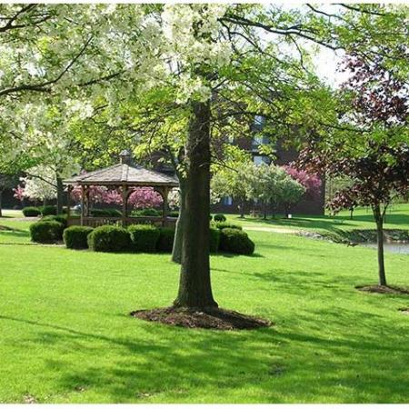 Gazebo and Beautiful Landscaping | Chestnut Lake Apartments