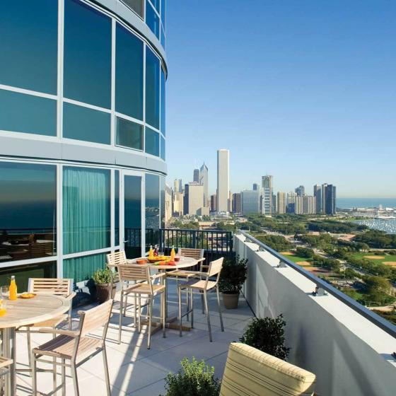 Sky 55 Apartments in Downtown Chicago