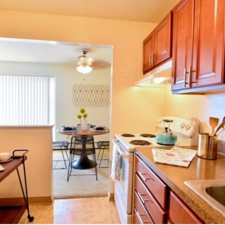 Kitchen  Dining Area | Parma Apartments | Midtown Towers