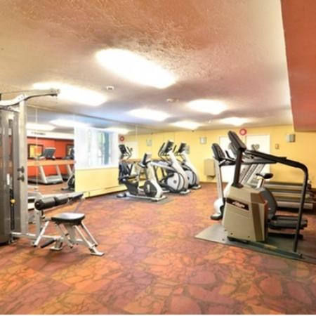 Fitness Center at Midtown Towers Apartments | Parma OH