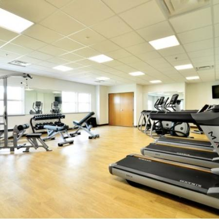 Fitness Center for Building 1 | Chestnut Lake Apartments