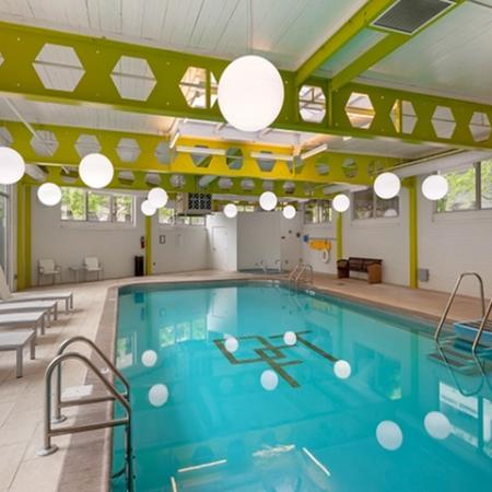 Luxury Amenities: Pool Area | One Franklin Town