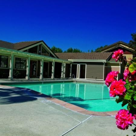 Swimming pool at Belmont Apartment Homes, 1010 Power Ave., Pittsburg, CA