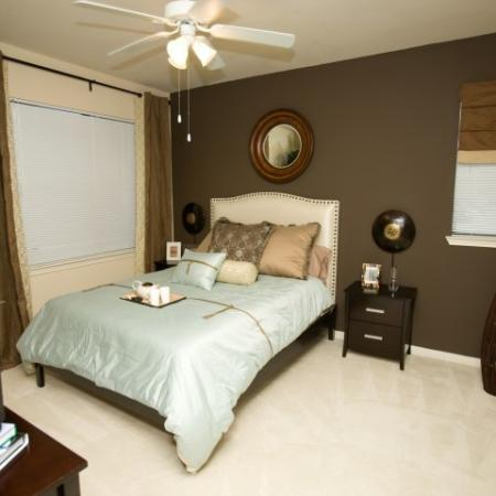 Bedroom at Lakeland Estates Apartment Homes in Stafford, TX