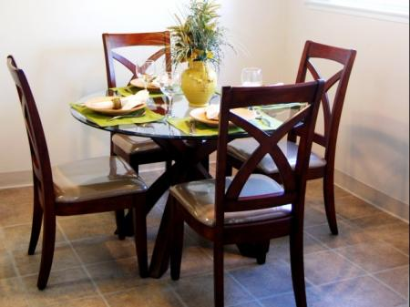Dining room at Canyon Rim Apartments, 10845 Via Los Narcisos, San Diego, CA