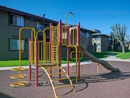 Playground at Westchester Park Apartments in Tustin, CA.