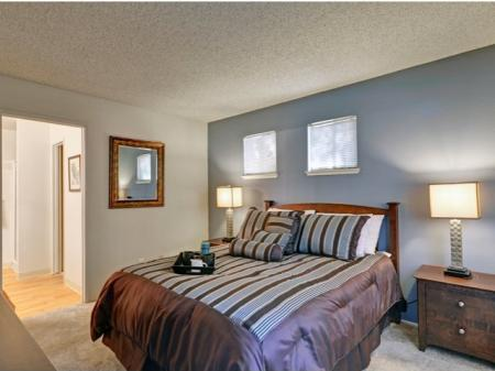 Bedroom at Bennington Apartments in Fairfield, CA