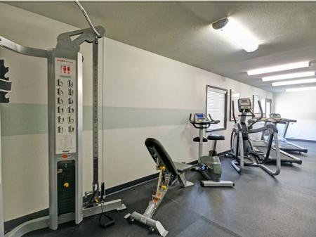 Fitness center a tBennington Apartments in Fairfield, CA