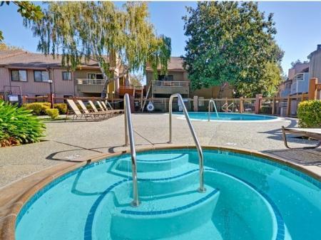 Spa at Bennington Apartments in Fairfield, CA