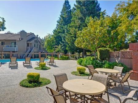 Sundeck at Bennington Apartments in Fairfield, CA