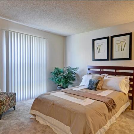 Bedroom at Baycliff Apartments, 2300 Lancaster Drive, Richmond, CA