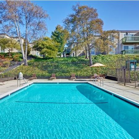 Baycliff Apartments 2300 Lancaster Drive, Richmond, CA - POOL