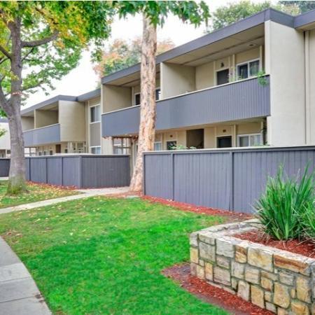 Trestles Apartments patio or balconies in San Jose, CA