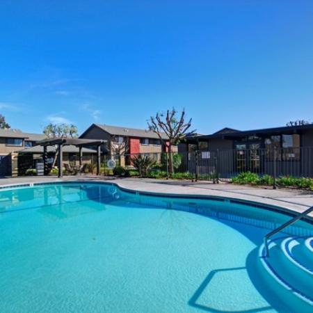 Pool at Westchester Park Apartments in Tustin, C
