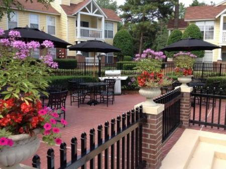 Relax and unwind at the resident social spaces at Reafield Village Apartments in Charlotte, NC