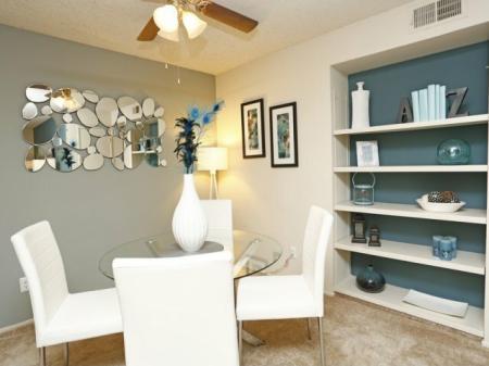 Dining room at Bennington Apartments in Fairfield, CA